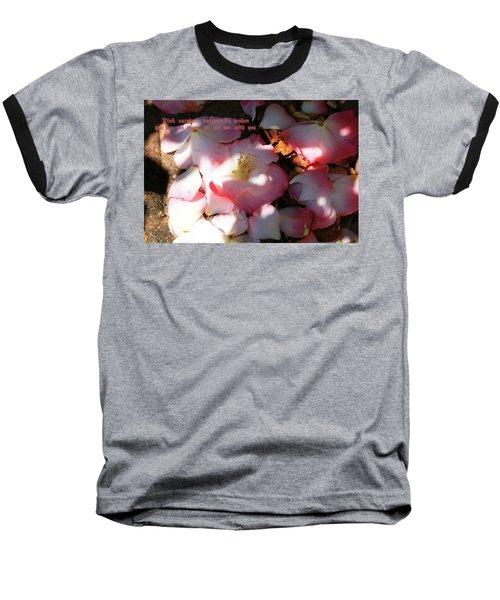 Pink Survivor Baseball T-Shirt