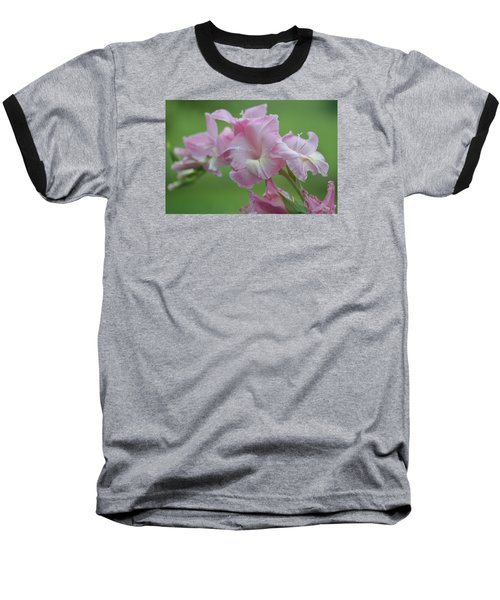 Pink Baseball T-Shirt by Teresa Tilley