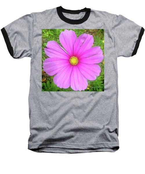 Pink Baseball T-Shirt by Terri Harper