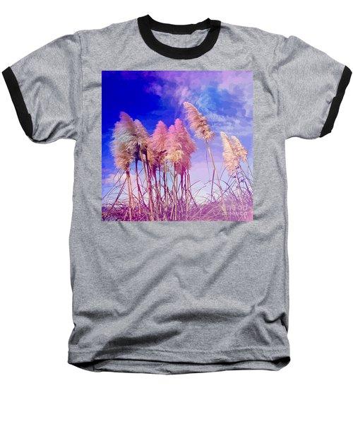 Pink Toi Toi Grasses Baseball T-Shirt