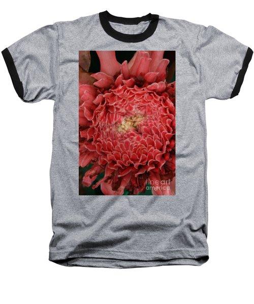 Pink Torch Ginger 1 Baseball T-Shirt