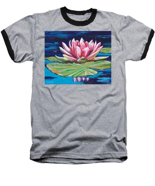 Pink Tranquility Baseball T-Shirt