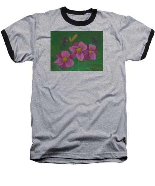 Pink Whispers Baseball T-Shirt
