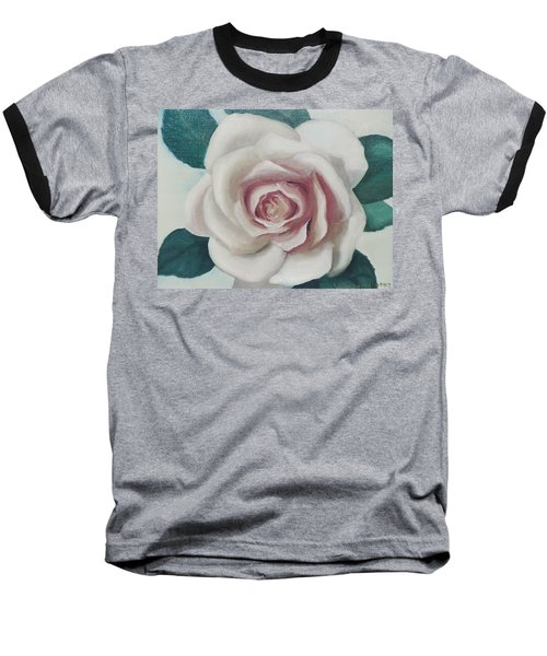 Pinky Flower Baseball T-Shirt