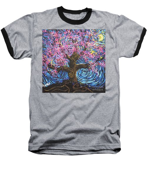Pinky Tree Baseball T-Shirt