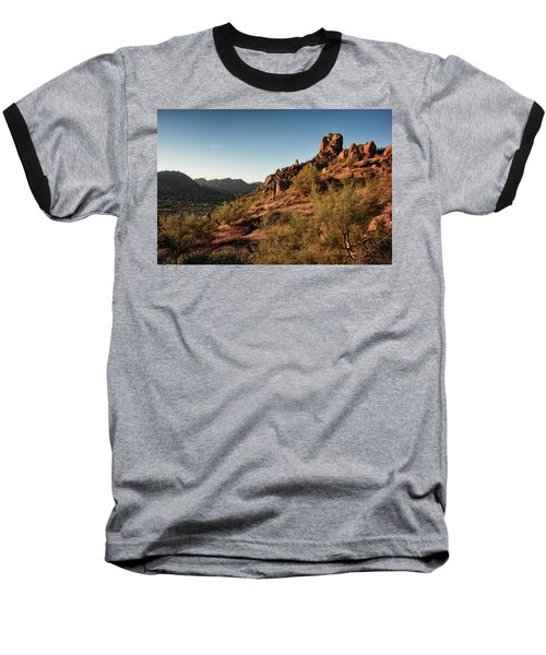 Pinnacle Peak  Baseball T-Shirt
