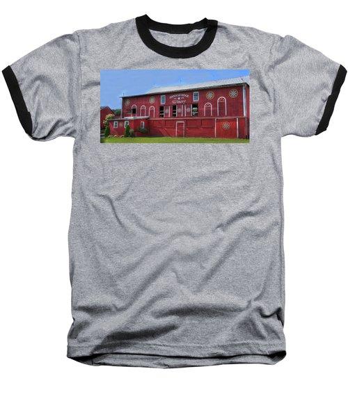 Pinnacle Ridge Winery Baseball T-Shirt