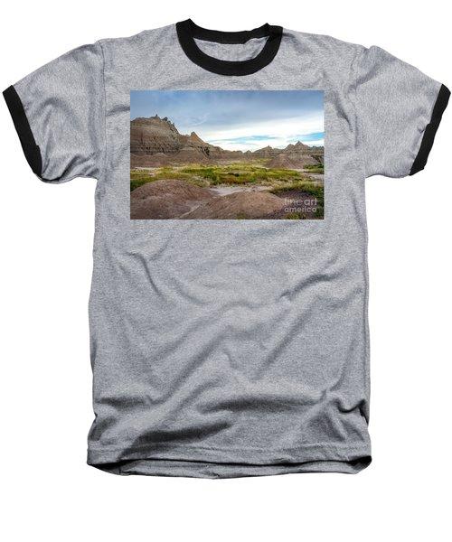 Pinnacles Of The Badlands Baseball T-Shirt