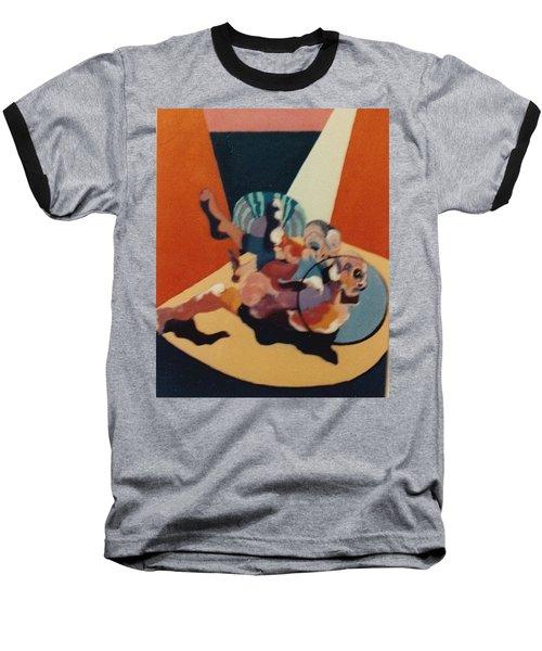 Pinned For The Win Baseball T-Shirt by Bernard Goodman