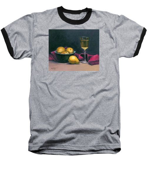 Pinot And Pears Still Life Baseball T-Shirt