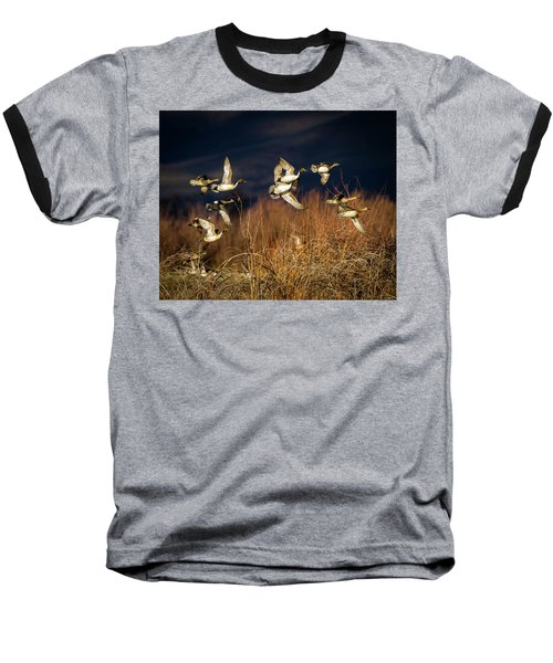 Pintails And Wigeons Baseball T-Shirt