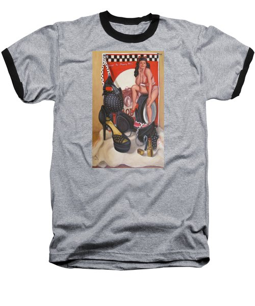Pinup #1 Baseball T-Shirt
