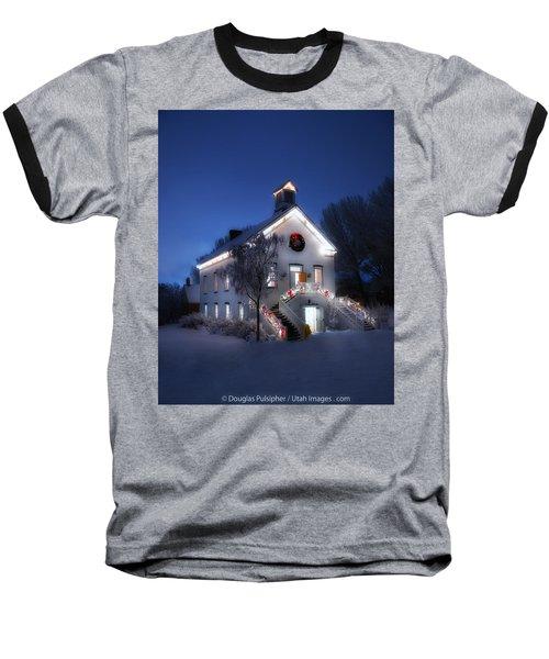 Pioneer Chapel At Christmas Baseball T-Shirt