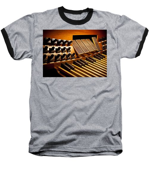 Pipe Organ Pedals Baseball T-Shirt