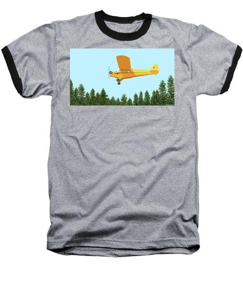 Piper Cub Piper J3 Baseball T-Shirt