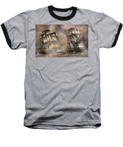 Pirate Battle Baseball T-Shirt