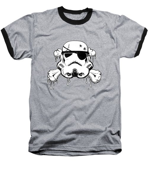Pirate Trooper Baseball T-Shirt