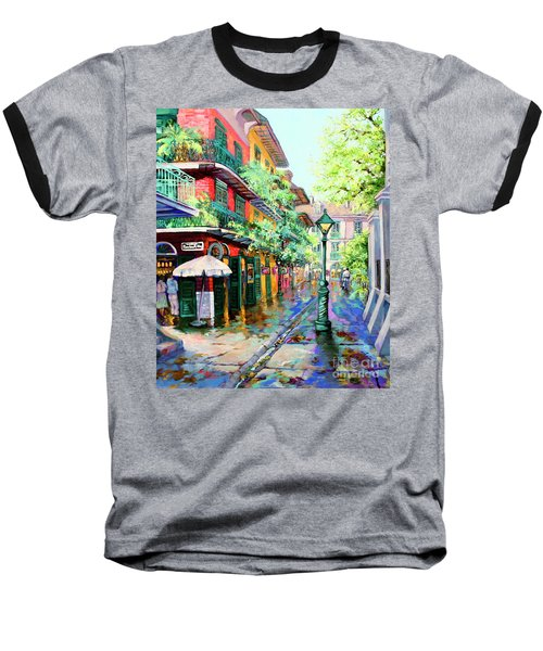 Pirates Alley - French Quarter Alley Baseball T-Shirt