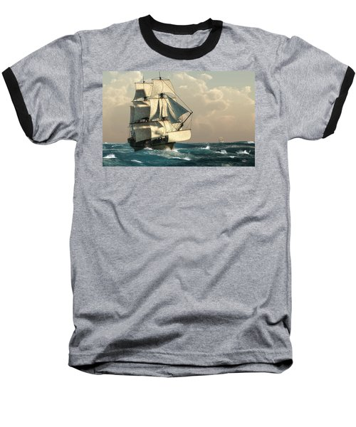 Pirates On The High Seas Baseball T-Shirt