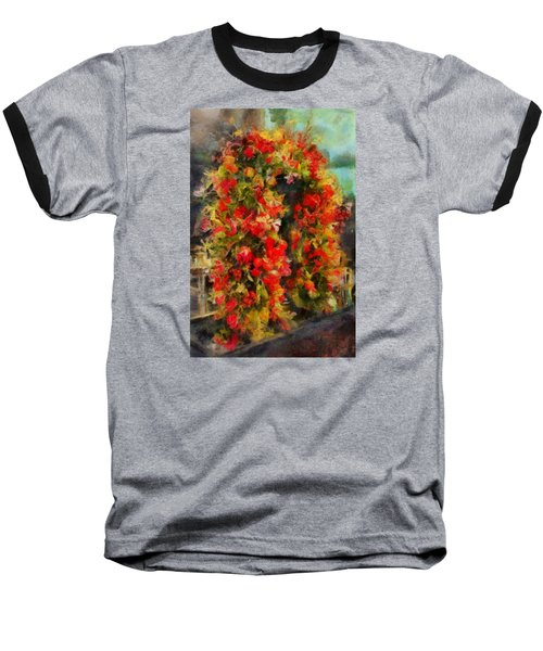 Pi's Flowers 2 Baseball T-Shirt