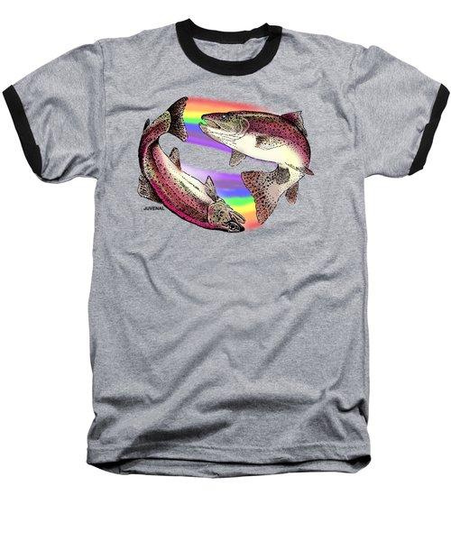 Pisces Artist Baseball T-Shirt by Joseph Juvenal