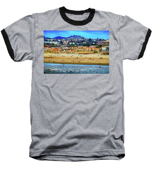 Baseball T-Shirt featuring the photograph Pismo Hilltop Ocean View by Joseph Hollingsworth