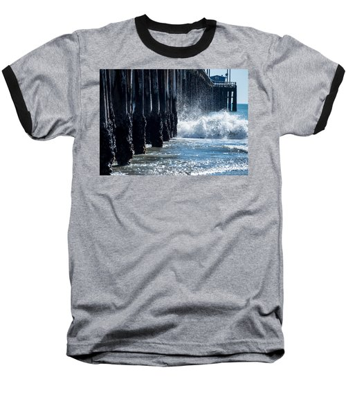 Pismo Pier Baseball T-Shirt