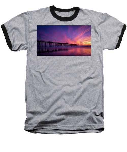 Pismo's Palette Baseball T-Shirt by Sean Foster