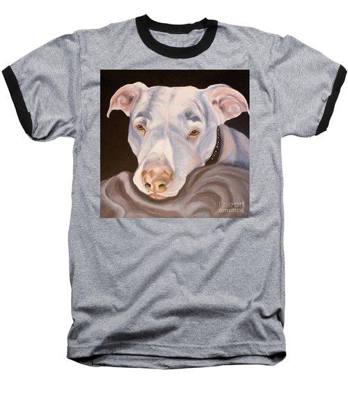 Pit Bull Lover Baseball T-Shirt