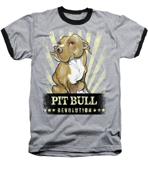 Pit Bull Revolution Baseball T-Shirt