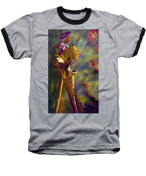 Pitcher Plant Baseball T-Shirt