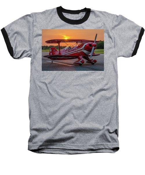 Pitts Sunset Baseball T-Shirt