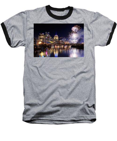 Pittsburgh 1  Baseball T-Shirt by Emmanuel Panagiotakis