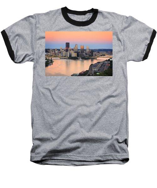 Pittsburgh 16 Baseball T-Shirt by Emmanuel Panagiotakis