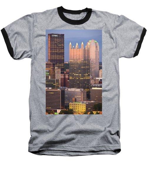 Pittsburgh 19  Baseball T-Shirt by Emmanuel Panagiotakis