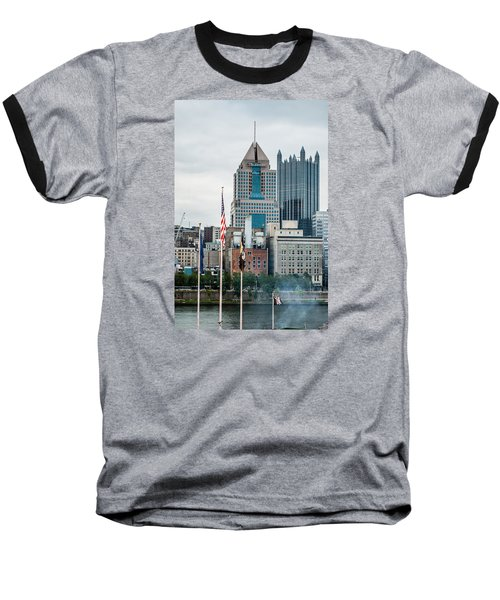 Baseball T-Shirt featuring the photograph Pittsburgh - 6975 by G L Sarti