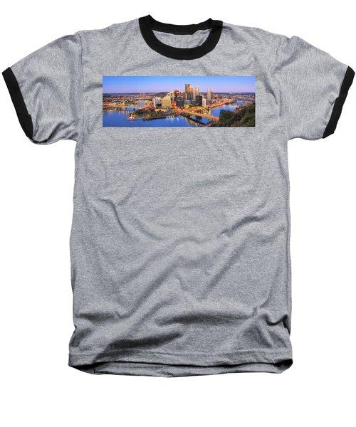 Pittsburgh Pano 22 Baseball T-Shirt