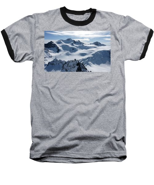 Pitztal Glacier Baseball T-Shirt