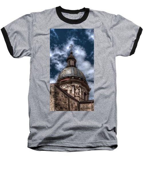 Place Of Worship Baseball T-Shirt by Patrick Boening