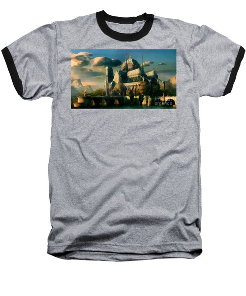 Places Angels Dwell Painted In Bleak Baseball T-Shirt