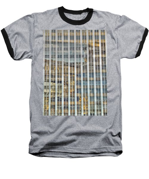 Plaid Light In La Baseball T-Shirt