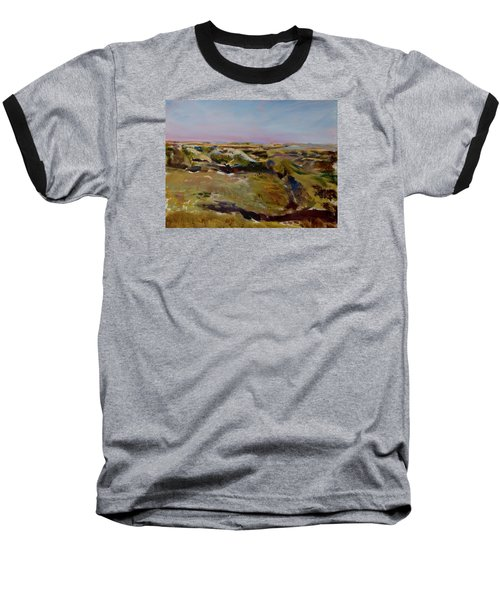 Coulee Evening Baseball T-Shirt by Helen Campbell