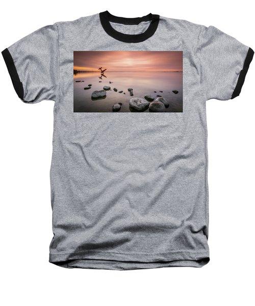 Plane And Colors Baseball T-Shirt