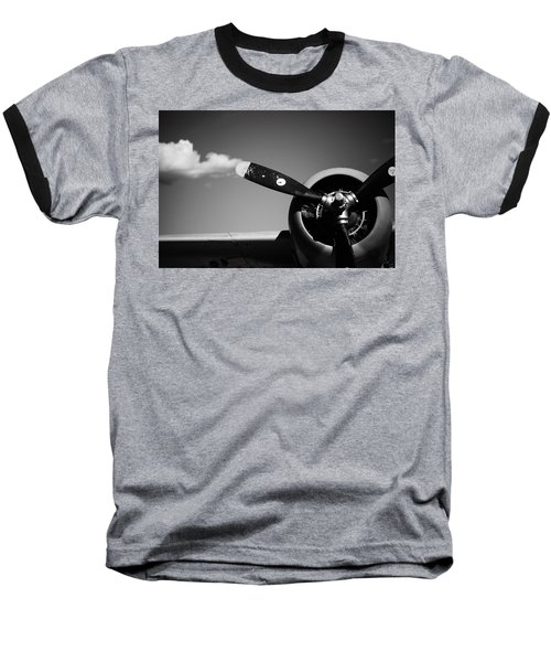 Plane Portrait 4 Baseball T-Shirt by Ryan Weddle