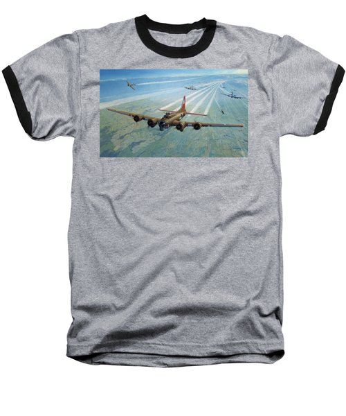 Baseball T-Shirt featuring the photograph Plane by Test