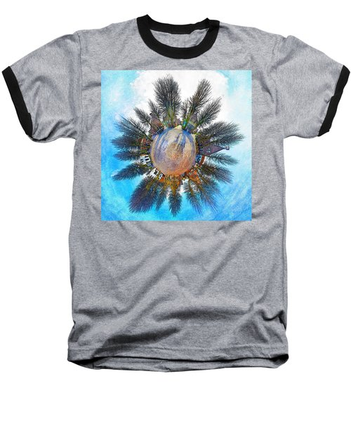 Planet Bourtange Baseball T-Shirt