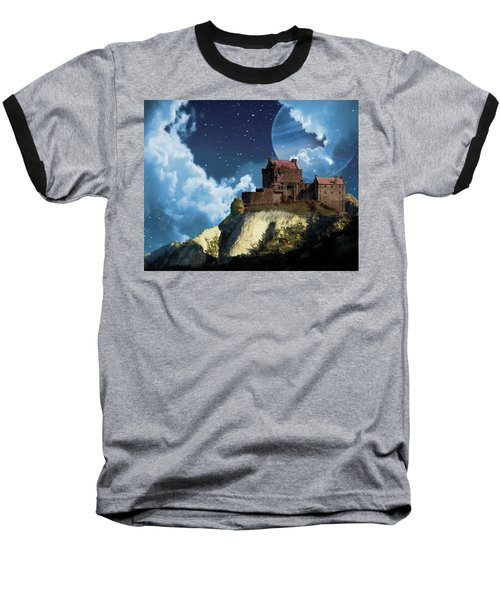 Planet Castle Baseball T-Shirt