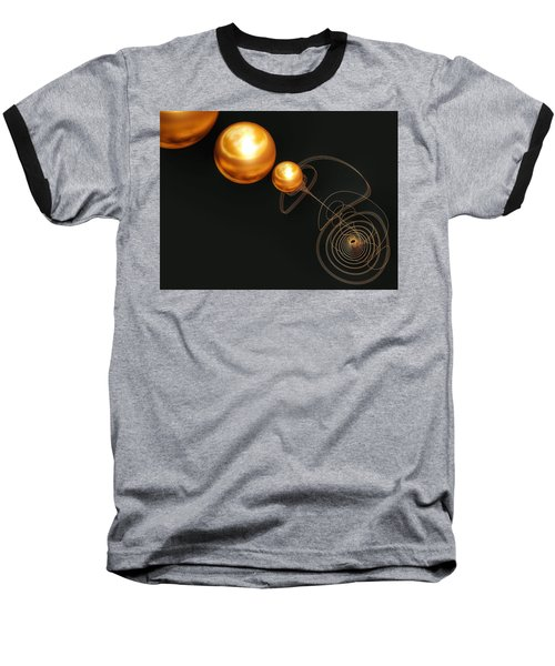 Planet Maker Baseball T-Shirt by Isabella F Abbie Shores FRSA