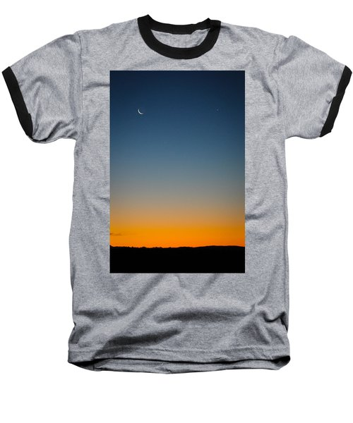 Planet Sunrise Baseball T-Shirt