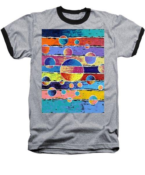 Planet System Baseball T-Shirt by Jeremy Aiyadurai